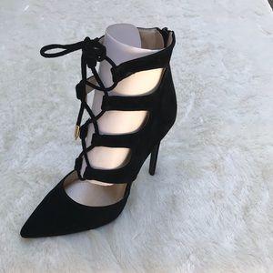 Shoe Republic Faux Suede Tie Up Shoes